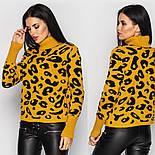 Женский леопардовый свитер (в расцветках), фото 4