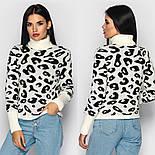 Женский леопардовый свитер (в расцветках), фото 3