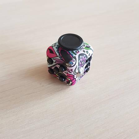 FidgetCube - 6 сторон - (розовый череп) - 901-26, фото 2