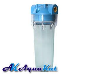 """Магистральный фильтр AquaKut 2P Plus 1"""" для холодной воды"""