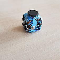 FidgetCube - 6 сторін - (синій-череп) 901-23, фото 3