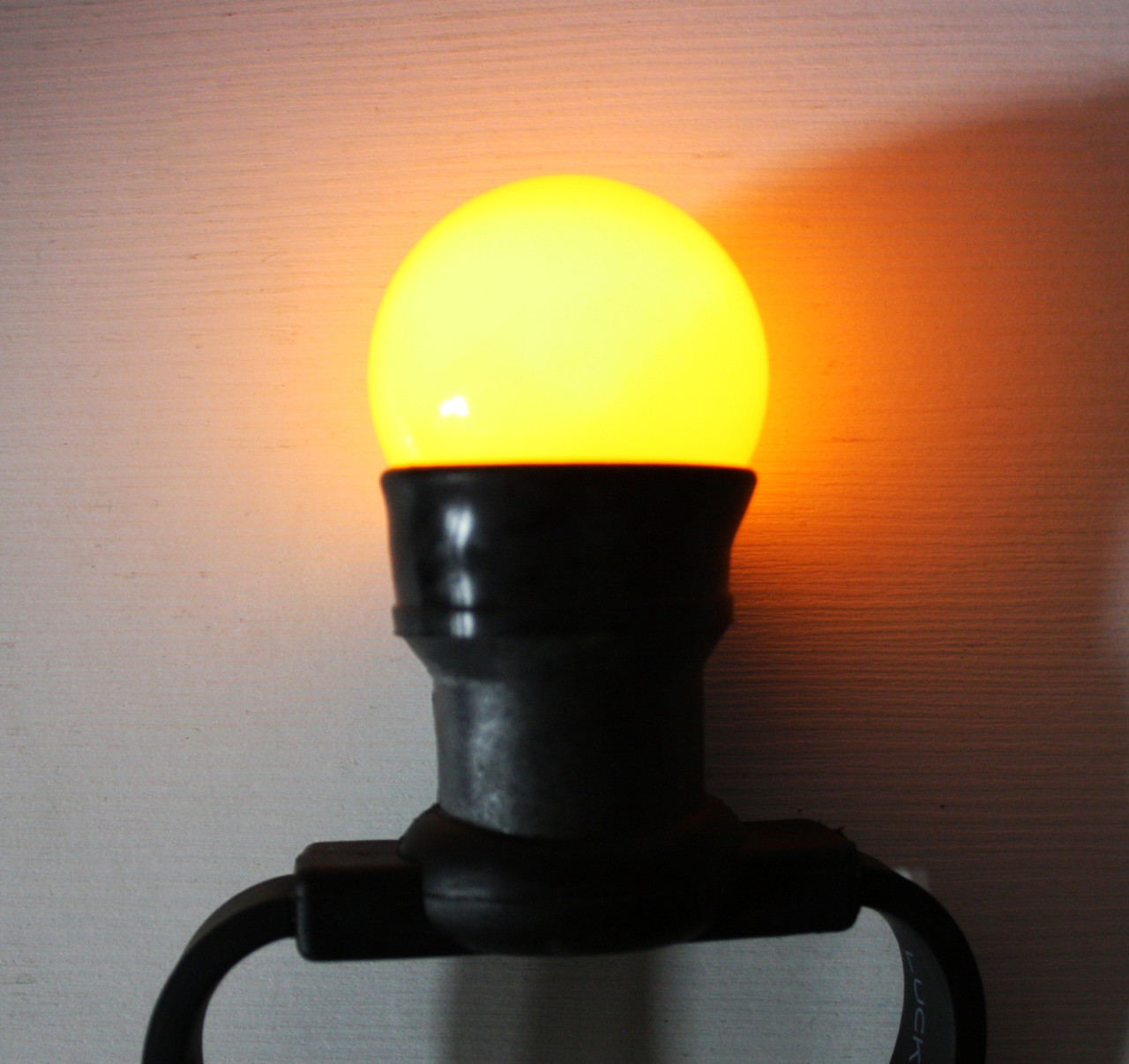 Уличная лампа для гирлянды Lumion Belt Light String (Белт лайт стринг) наружная цвет желтый
