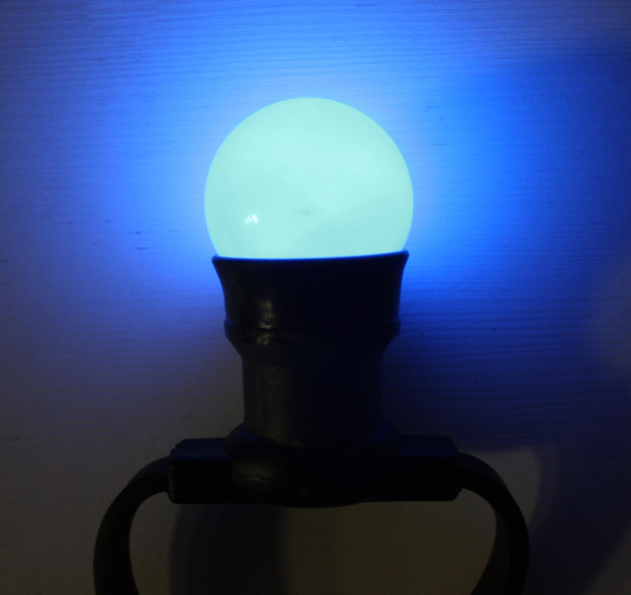 Уличная лампа для гирлянды Lumion Belt Light String (Белт лайт стринг) наружная цвет синий