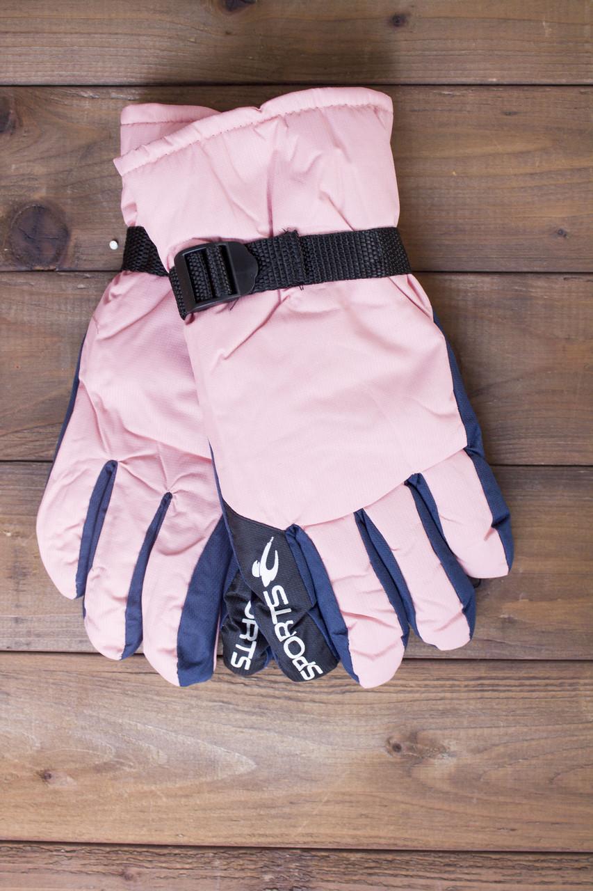 Лыжные перчатки 2002-2 розовые