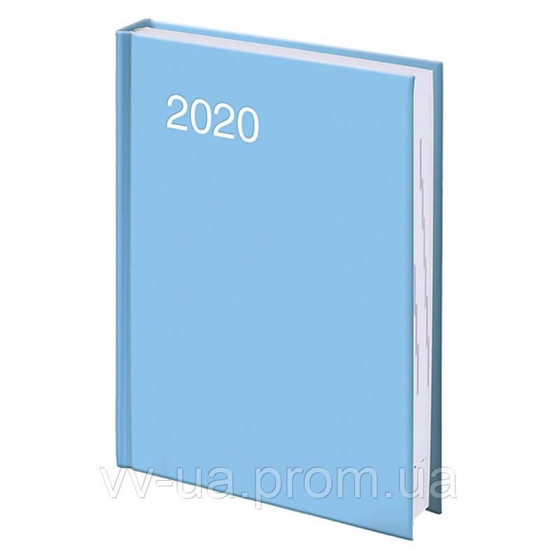 Ежедневник Brunnen 2020 карманный Miradur trend голубой (73-736 64 33)