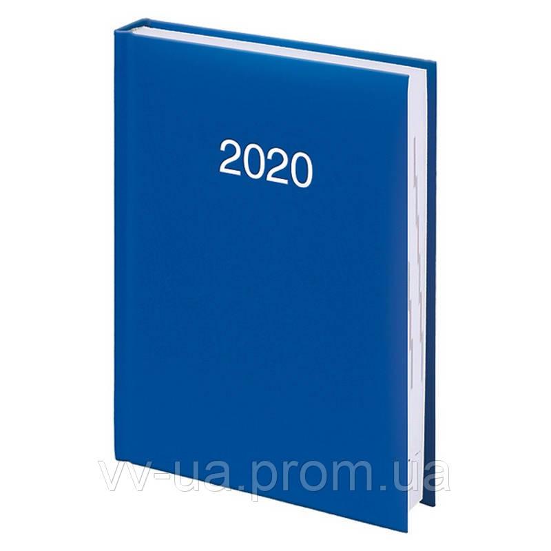 Ежедневник Brunnen 2020 карманный Miradur срб/т ярко-синий (73-736 60 32)