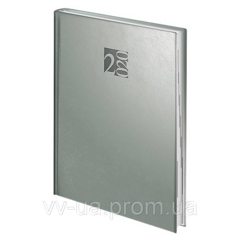 Ежедневник Brunnen 2020 Стандарт Intention silver (73-795 40 92)