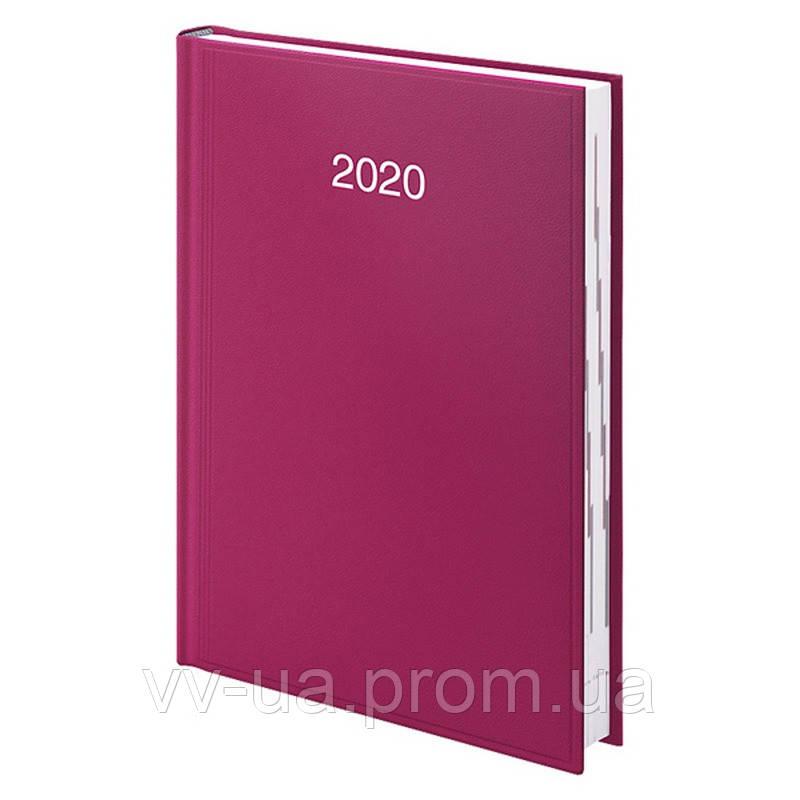 Ежедневник Brunnen 2020 Стандарт Miradur срб/т лиловый (73-795 60 64)