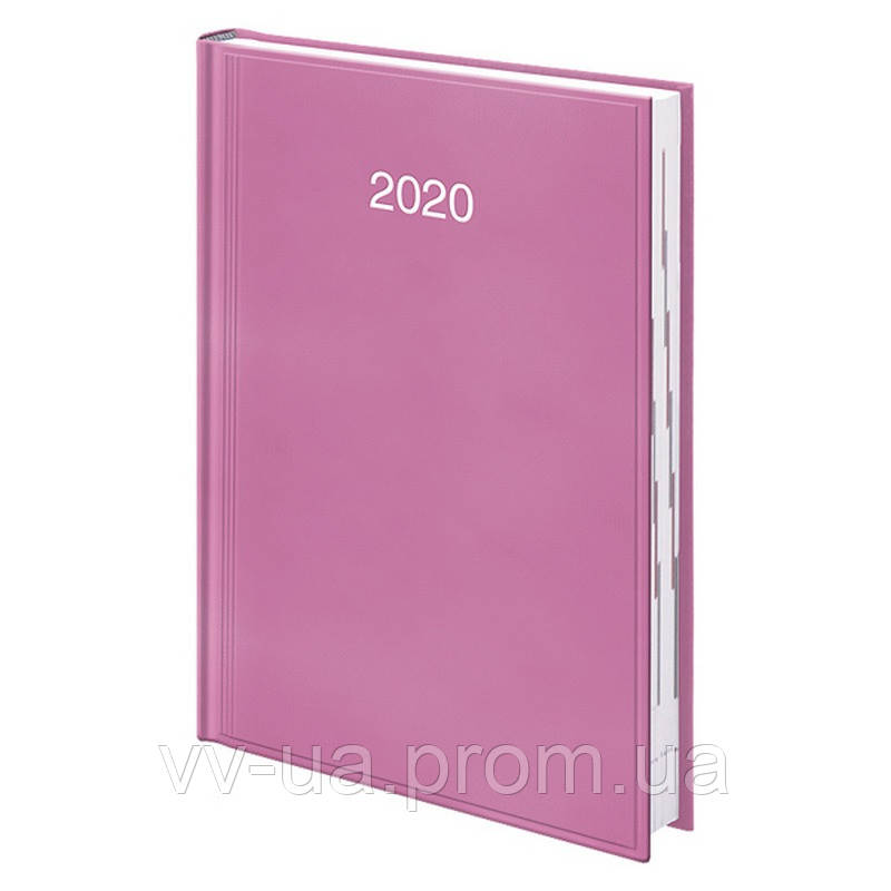 Ежедневник Brunnen 2020 Стандарт Miradur срб/т розовый (73-795 60 22)