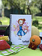 Кукбук кулинарная книга для рецептов Девочка, фото 2
