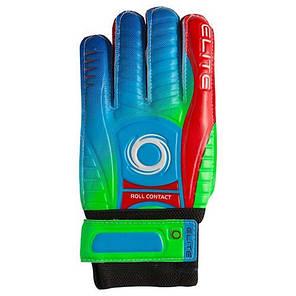 Воротарські рукавички Latex Foam ELITE, розмір 9, червоний/зелений GG-ET95, фото 2