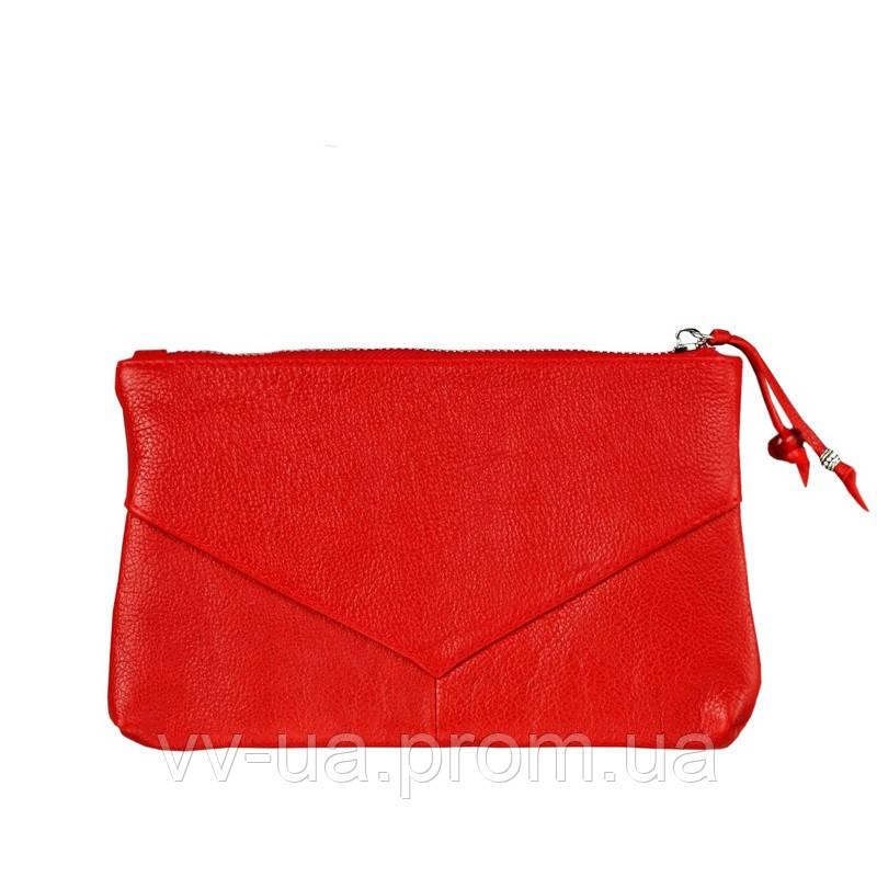 Женская косметичка BlankNote рубин, красная (BN-CB-1-rubin), кожа