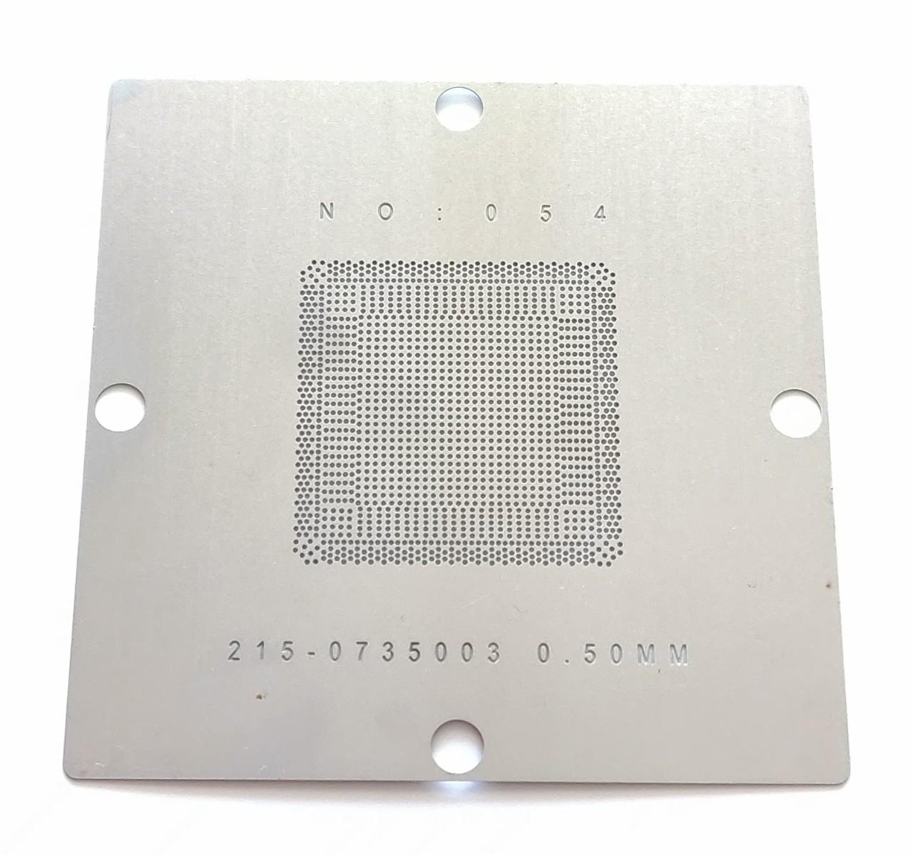 Трафарет BGA ATI AMD 215-0735003, шар 0,5 мм