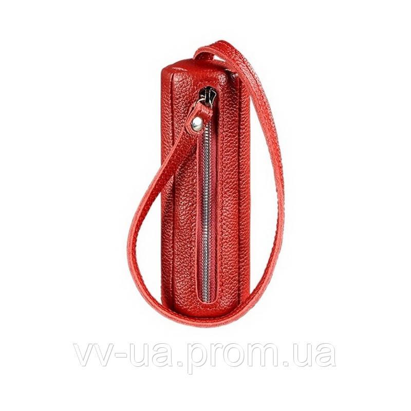 Ключница BlankNote 3.0 тубус, рубин, красный (BN-KL-3-rubin), кожа