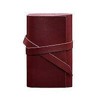 Кожаный блокнот BlankNote Софт-бук 1.0 Виноград, бордовый (BN-SB-1-st-vin)