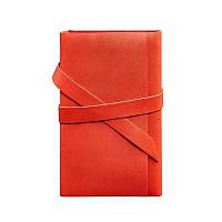 Кожаный блокнот BlankNote Софт-бук 1.0 Коралл, красный (BN-SB-1-st-coral)