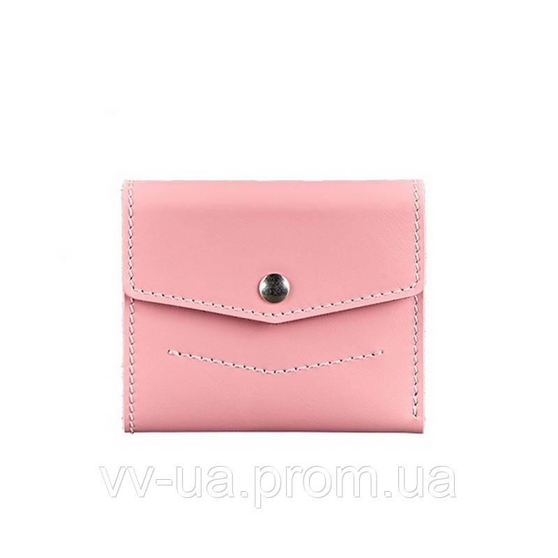 Кошелек BlankNote 2.1 Розовый (BN-W-2-1-pink), кожаный