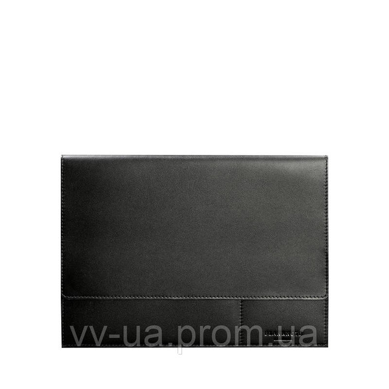 Папка для документов BlankNote А4 на магнитах, Графит, черная (BN-DC-1-g), кожа