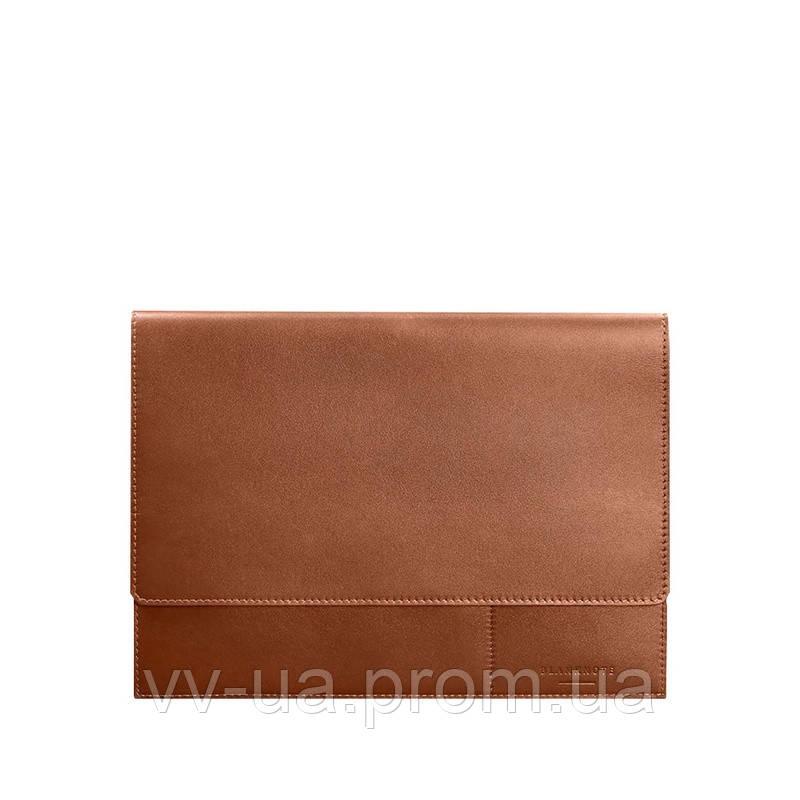 Папка для документов BlankNote А4 на магнитах, Коньяк, коричневая (BN-DC-1-k), кожа