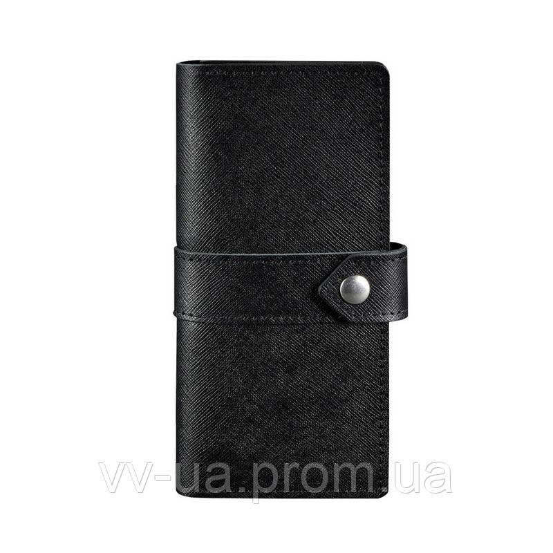 Портмоне BlankNote 3.1 Blackwood, черный (BN-PM-3-1-blackwood), кожаный