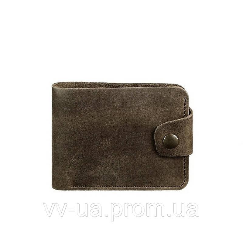 Портмоне BlankNote 4.3 Орех, коричневый (BN-PM-4-3-o), кожаный