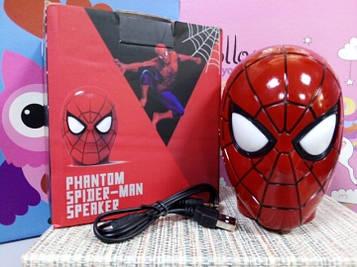 Детская колонка портативная Человек паук Bluetooth-динамик