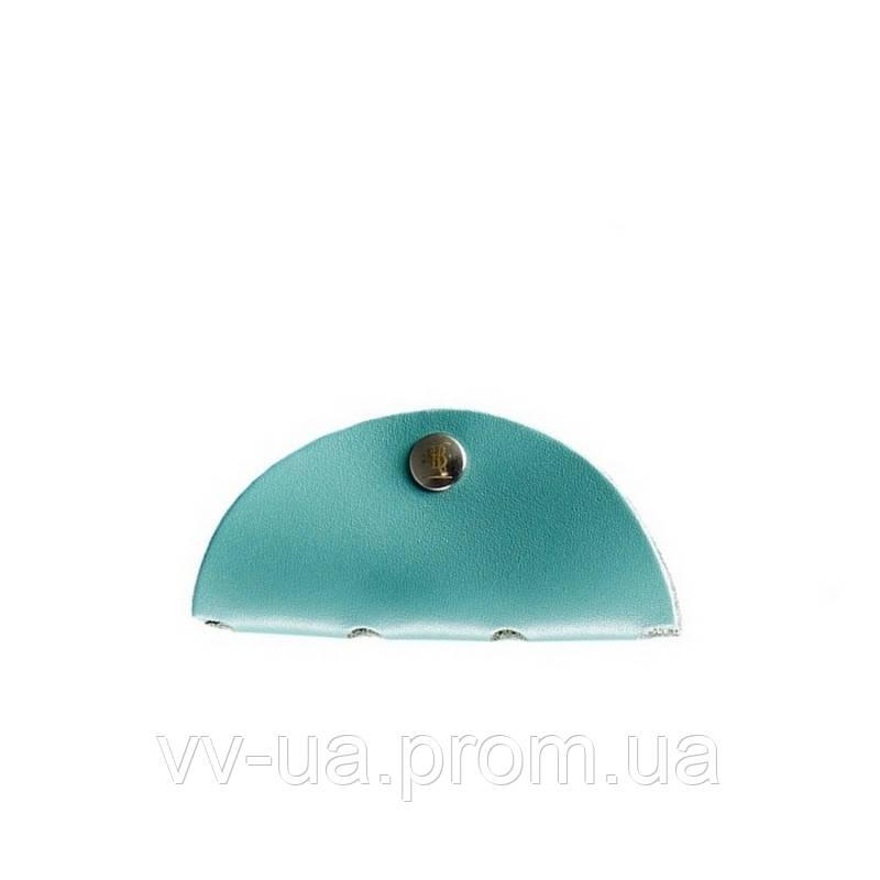 Холдер для наушников BlankNote Тиффани, бирюзовый (BN-HN-1-tiffany), кожа