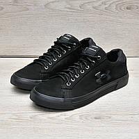 Кожаные туфли в стиле Under Urmour