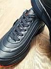 Кроссовки Bonote тёмно-синие кожзам осень/весна р.47, фото 4