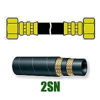 РВД 2SN S24 L-1000мм (обжим радиальный)