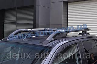 Рейлинги на крышу с перемычками на Тойота Хайлюкс с 2019 Релинги с поперечинами в сборе на Toyota Hilux 2019+