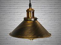 Люстра-подвес светильник в стиле Loft 60W (6855-210-BK-G)