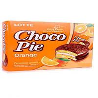 Печенье Choco Pie Lotte Orange 168 g