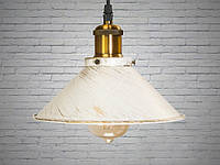 Люстра-подвес светильник в стиле Loft 60W (6855-210-WH-G)