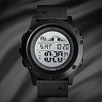 Skmei 1476 черные мужские спортивные часы, фото 1