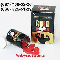 Таблетки для потенции Gold Vi@gra... 10табл, фото 1