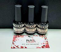 Набор База Окси Oxxi 15 ml + Топ Oxxi No wipe (без липкого слоя) + Top Окси Coat 15 ml для гель-лака