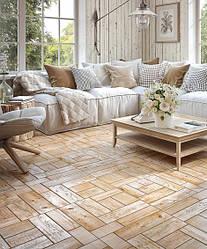 Плитка для підлоги BALE коричневий 43x43 см