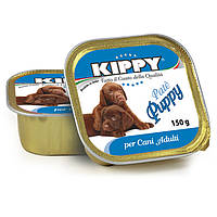 KIPPY Paté Puppy паштет из мяса курицы и говядины с печенью для щенков, 150г*22шт