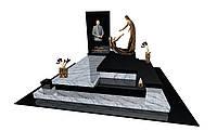 Пам'ятник з граніту подвійний Е10808