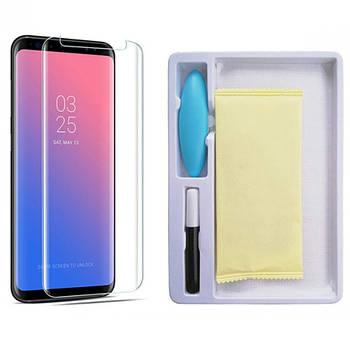 Защитное 3D стекло Mocolo с УФ лампой для Samsung G950 Galaxy S8 / S9
