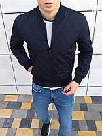 Куртка мужская синяя (бомбер). Куртка чоловіча. ТОП КАЧЕСТВО!!!, фото 1