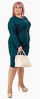 Женский модный костюм двойка (кофта + юбка) батал 48 - 62 рр