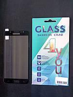 Защитное стекло Meizu M5s 2.5D (0.3mm) Black 4you