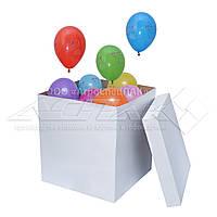 Коробка для воздушных шаров. Коробка - сюрприз для воздушных шариков. Опт.