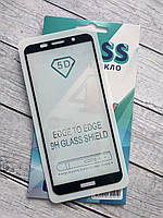 Защитное стекло Huawei P Smart+/Nova 3i Full Glue 2.5D (0.3mm) Black 4you