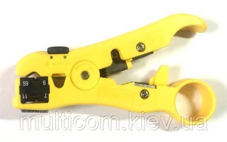 12-01-060. Инструмент для зачистки коаксиального кабеля (RG-59; 6; 7; 11), Hanlong, HT-352
