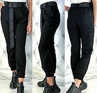 Женские модные брюки из стрейч - джинса с 42 по 48 рр, фото 1