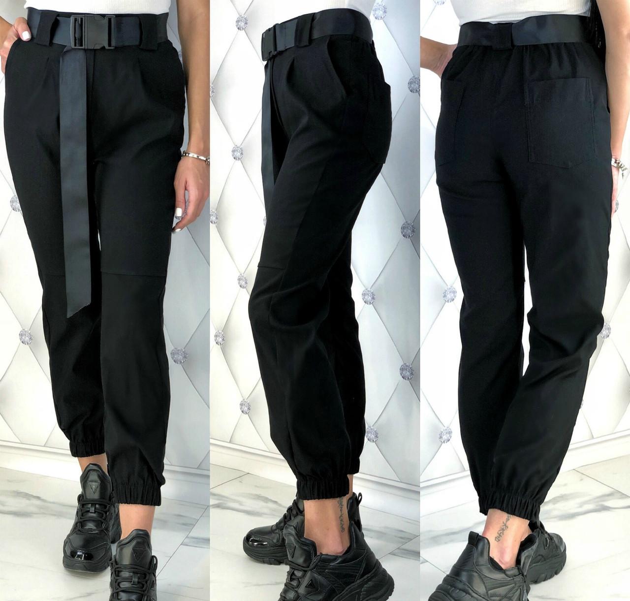 Женские модные брюки из стрейч - джинса с 42 по 48 рр