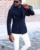 Мужское стильное пальто  ЕС821